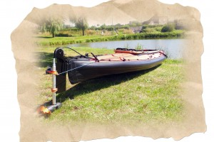 Torqeedo Ultralight 403 en test sur les Kayaks pliables Nautiraid